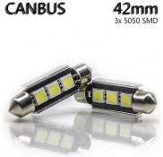 Led Canbus 3*Led 42mm 5050SMD