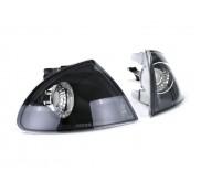 Frontblinker Bmw 3er E46 Limo + Touring Klarglas Schwarz 98-01
