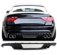 Audi A5 S5 8T Limousine Heckdiffusor Carbon