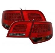 Heckleuchten Audi A3 8PA Sportback Rot Schwarz