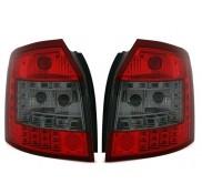 Heckleuchten Audi A4 8E B6 Avant Rot Schwarz