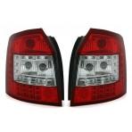 Heckleuchten Audi A4 8E B6 Avant Rot Weiss