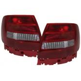 Heckleuchten Audi A4 B5 Limousine Rot Weiss
