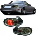 Heckleuchten Mazda MX5 NB NBFL Schwarz Led