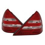 Heckleuchten Mercedes SLK R170 Rot Weiss LED