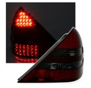 Heckleuchten Mercedes SLK R170 Rot Schwarz LED