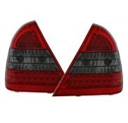 Heckleuchten Mercedes C-Klasse W202 Rot Schwarz LED