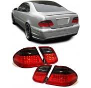 Heckleuchten Mercedes CLK W208 Rot Schwarz LED