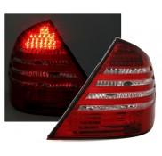 Heckleuchten Mercedes E-Klasse W211 Rot Kristall LED