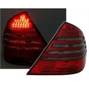 Heckleuchten Mercedes E-Klasse W211 Rot Schwarz LED