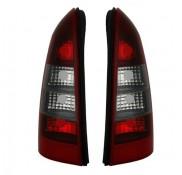 Heckleuchten Opel Astra G Klarglas Rot Schwarz