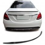 Heckspoiler Heckflügel Mercedes C Klasse W205 echt Carbon