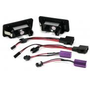Kennzeichenbeleuchtung Led Audi A4 8K B8 A5 8T A6 A7 4G/C7 Q3 Q5 TT VW
