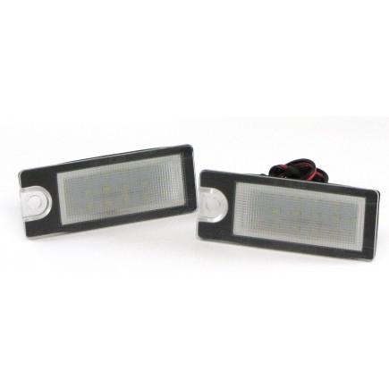 Kennzeichenbeleuchtung weiß Volvo V70 II XC70 I S60 S80 XC90