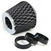 Performance Sport Luftfilter mit Adapter Carbon Chrom