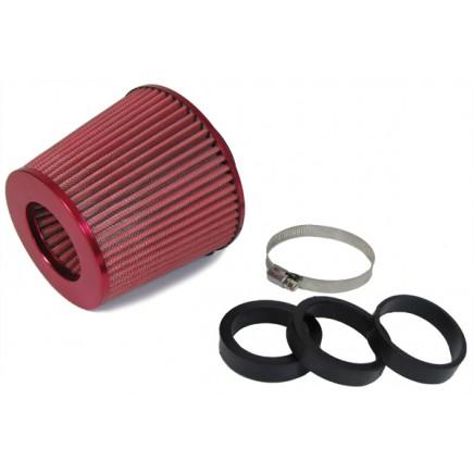 Performance Sport Luftfilter mit Adapter Rot