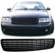 Nieren Grill Kühlergrill Audi A4 B5 ohne Emblem Schwarz