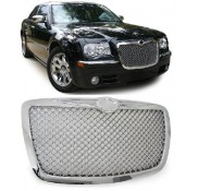 Nieren Grill Kühlergrill Chrysler 300C Chrom Bentley Look