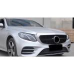 Nieren Grill Kühlergrill Mercedes E-Klasse W213 S213 360° Schwarz