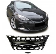 Nieren Grill Kühlergrill Opel Astra J GTC ohne Emblem Schwarz