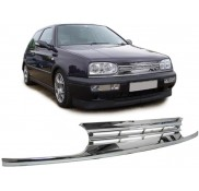Nieren Grill Kühlergrill Vw Golf III 3 VR6 Design Chrom